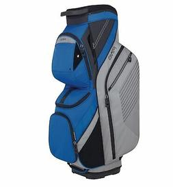 golf traverse cart bag silver blue 2018