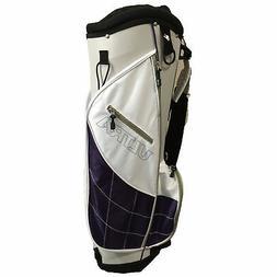 Wilson Golf Ultra Women's Cart Bag - White/Purple