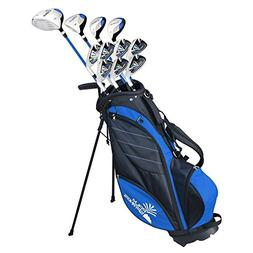 Palm Springs Golf VISA V2 Mens GRAPHITE & STEEL Club Set & S