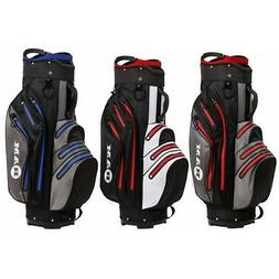 Ram Golf Waterproof Cart Bag - 14 Way Club Dividers