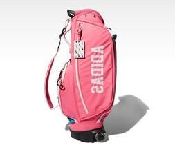 adidas Golf Women's Adicross Caddie Bag Golf Club Bag Pink W