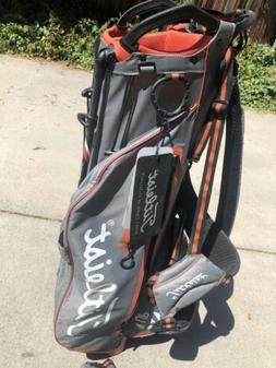 Titleist Grey/Orange 4UP STADRY Stand Bag - Floor Display Mo