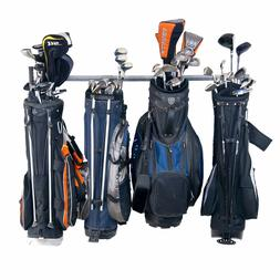 Storage Hanger Garage Large Wall Organizer Six Golf Bag Club