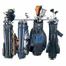 Storage Hanger Garage Large Wall Organizer Six Golf Bag Club