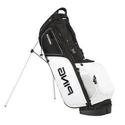 PING Hoofer Golf Bag, Black-White