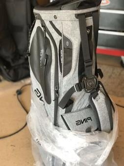 Ping Hoofer Stand Golf Bag 5-Way Heather Gray / Black NWOT