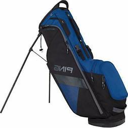 hooferlite stand golf bag blue black 2018