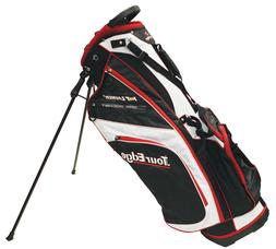 Tour Edge Hot Launch 2 Stand Bag Black/White/Red NEW 9933
