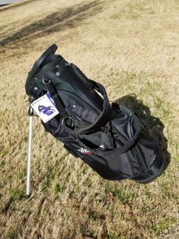 Tour Edge Hot Launch Lightweight Stand/Carry Golf Bag Black/