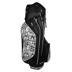 Hot-Z 2.5 Golf Club Cart Bag Ladies Lace 14-Way Divider Ligh