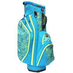 Hot-Z 3.5 Cart Bag Ladies Lace Blue/Lime
