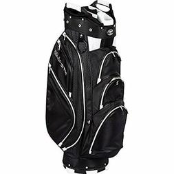Hot-Z Golf 4.5 Cart Bag Black/White New