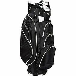 Hot-Z Golf 4.5 Cart Bag Black/White