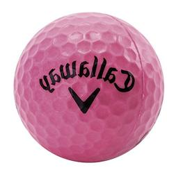 Callaway HX 9-Pack Practice Ball, Pink
