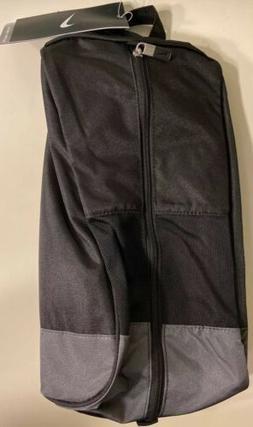 Nike Golf Sport II Shoe Tote Bag, Black/Silver/Dark Grey
