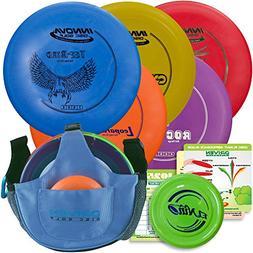 Innova Disc Golf Starter Set + Arctic Slingshot Bag   5 Begi