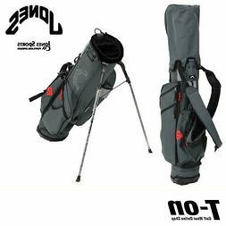 Jones Japan Caddy Bag Stand-Up Shoulder With Lightweight Nyl
