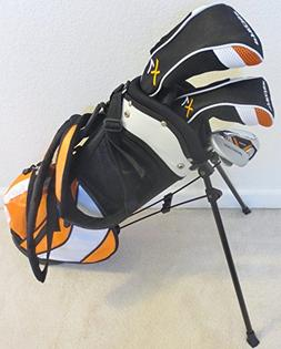 Boys Golf Set Clubs with Stand Bag for Children Ages 3-6 Coo