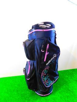TaylorMade Kalea Women's Cart Golf Bag Black/Violet New