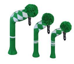 kelly green white aryle golf