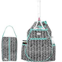 Ame & Lulu Kingsley Women's Tennis Backpack bundled with a R