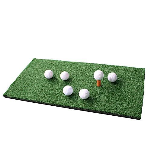 Leader Accessories 4 1 Golf Hitting Chipping Driving Mat Balls Aid Training Free