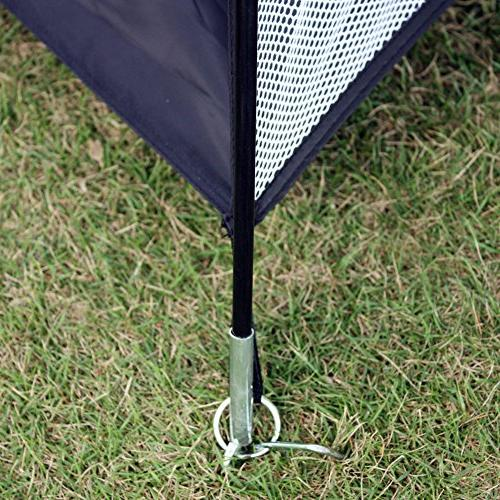 Leader 4 1 Practice Hitting Cage Driving Mat Training