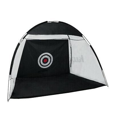 10FT Outdoor Supersized Golf Practice Cloth Bag Target Mat Nail