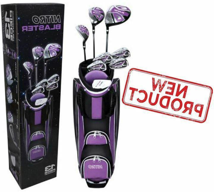 13 piece ladies golf club set right