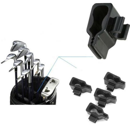 14x Golf Bag Club Organizer Clip Holder Set For All Wedge Ir