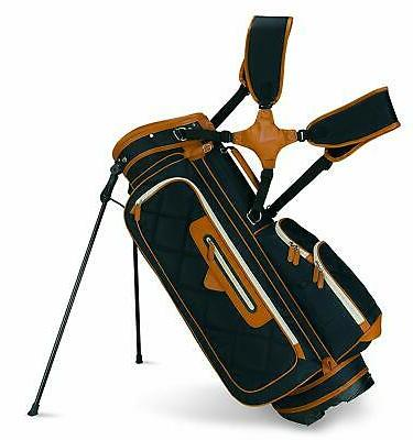 2015 up town golf stand bag black
