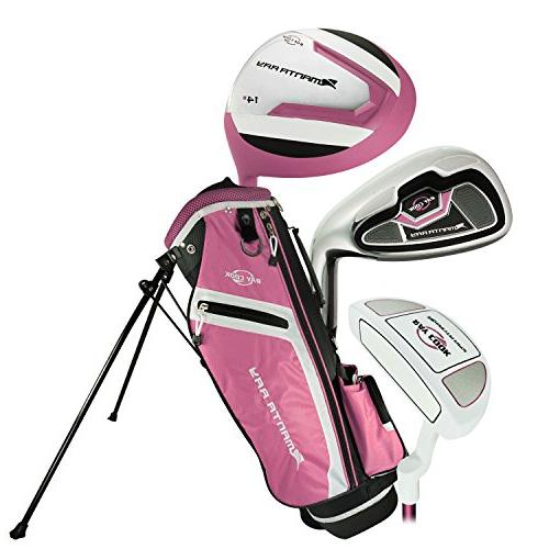Ray Cook Golf 2017 Manta Ray 5-Piece Girls Junior Set with B