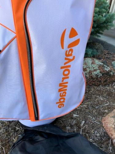 Taylormade 2017 5.0 Carry Bag Orange White Black