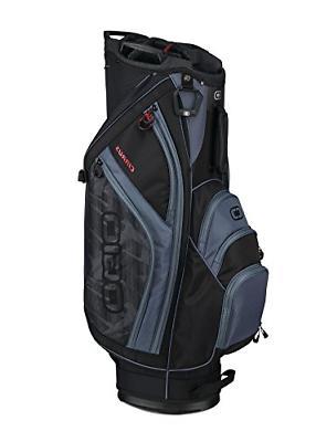 OGIO 2018 Cirrus Cart Bag, Shoot Black