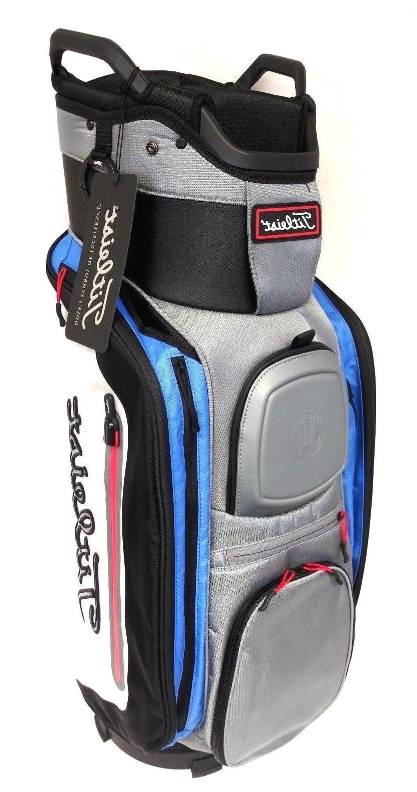 98631d45922 Titleist 2018 Club 14 Cart Golf Bag