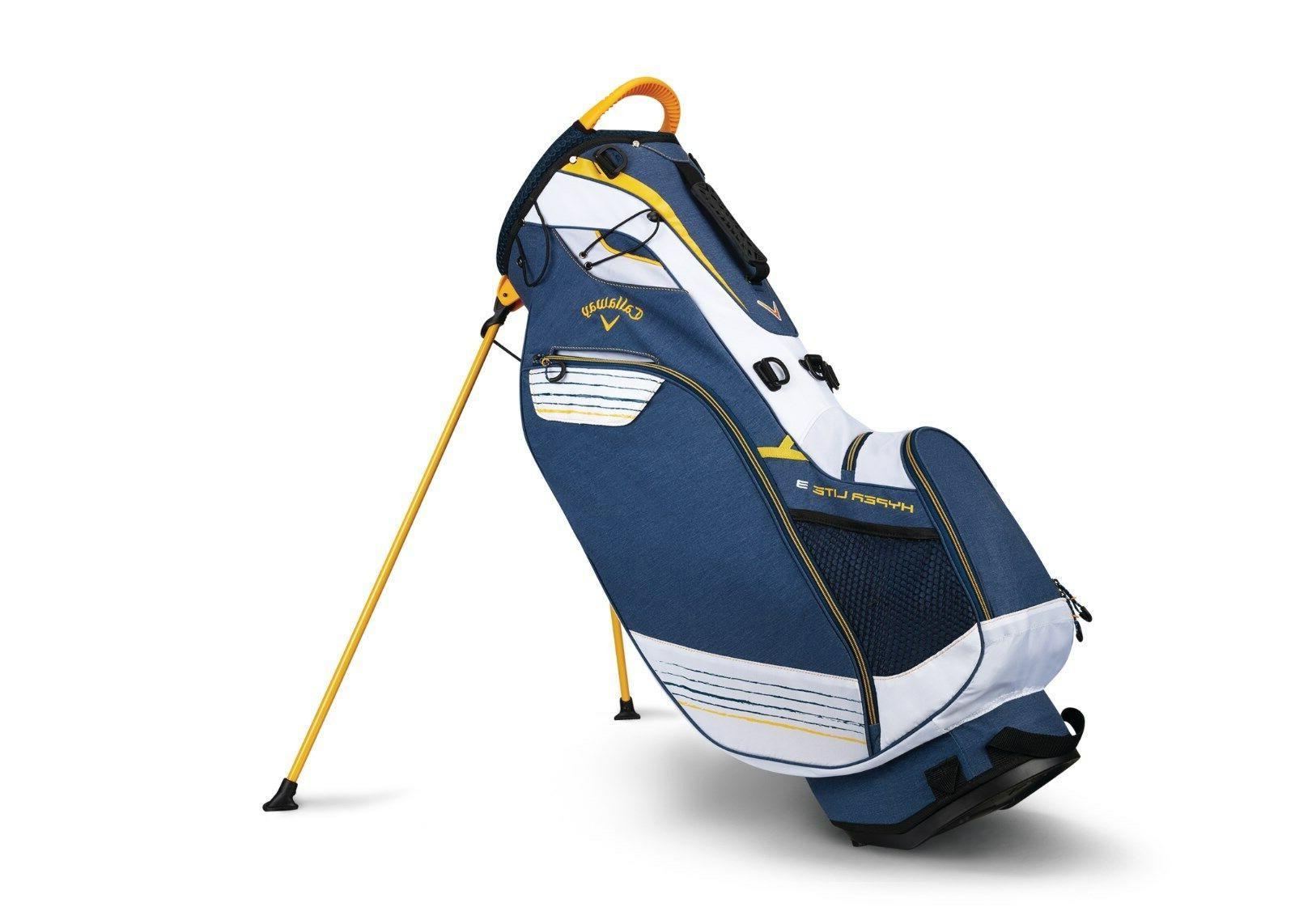 2018 Callaway Golf Hyper-Lite 3 Stand Bag