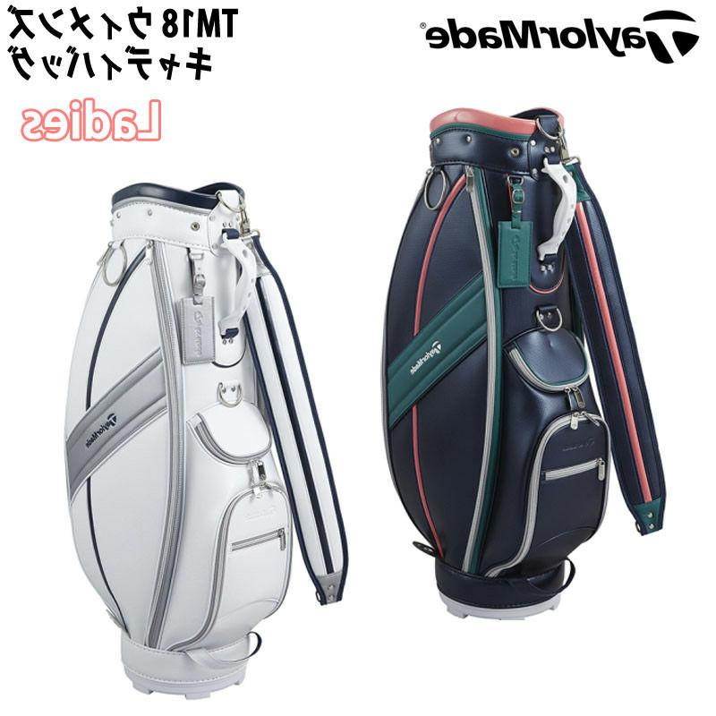 "2018 TAYLORMADE GOLF JAPAN TM18 Women's CADDY BAG 8.5"" 2.9kg"