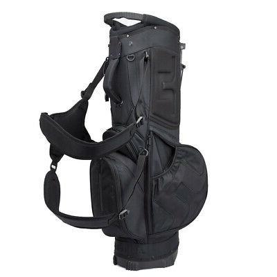 2018 J.Lindeberg Stand Bag Black