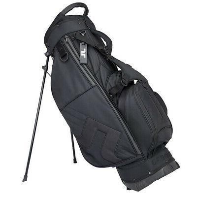 2018 j lindeberg stand bag black new