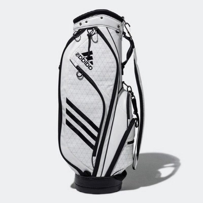 Adidas Weight 10lb Caddie Cart Bag 9In 5-Way Free Ems White