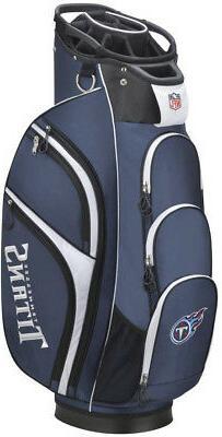 Wilson 2018 NFL Golf Cart Bag, Tennessee Titans