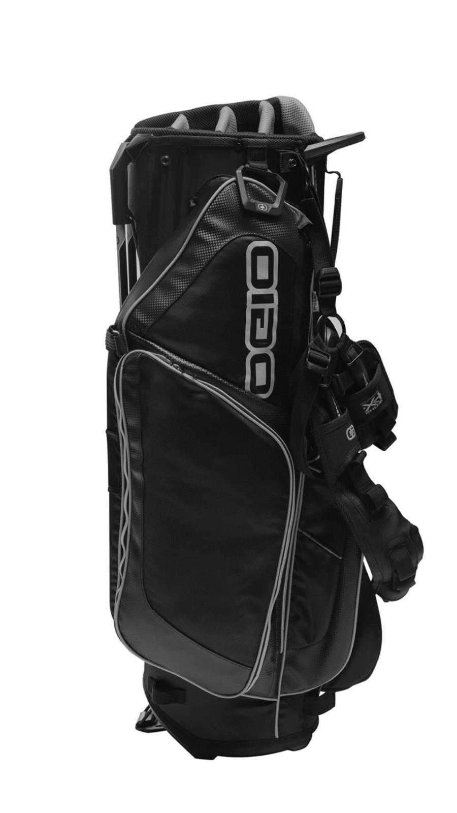2018 orbit standing golf bag black