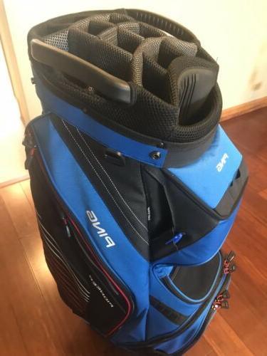 2018 Cart Golf Blue/Black/Red