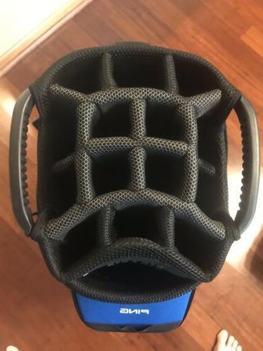 2018 Cart Golf Bag New Blue/Black/Red