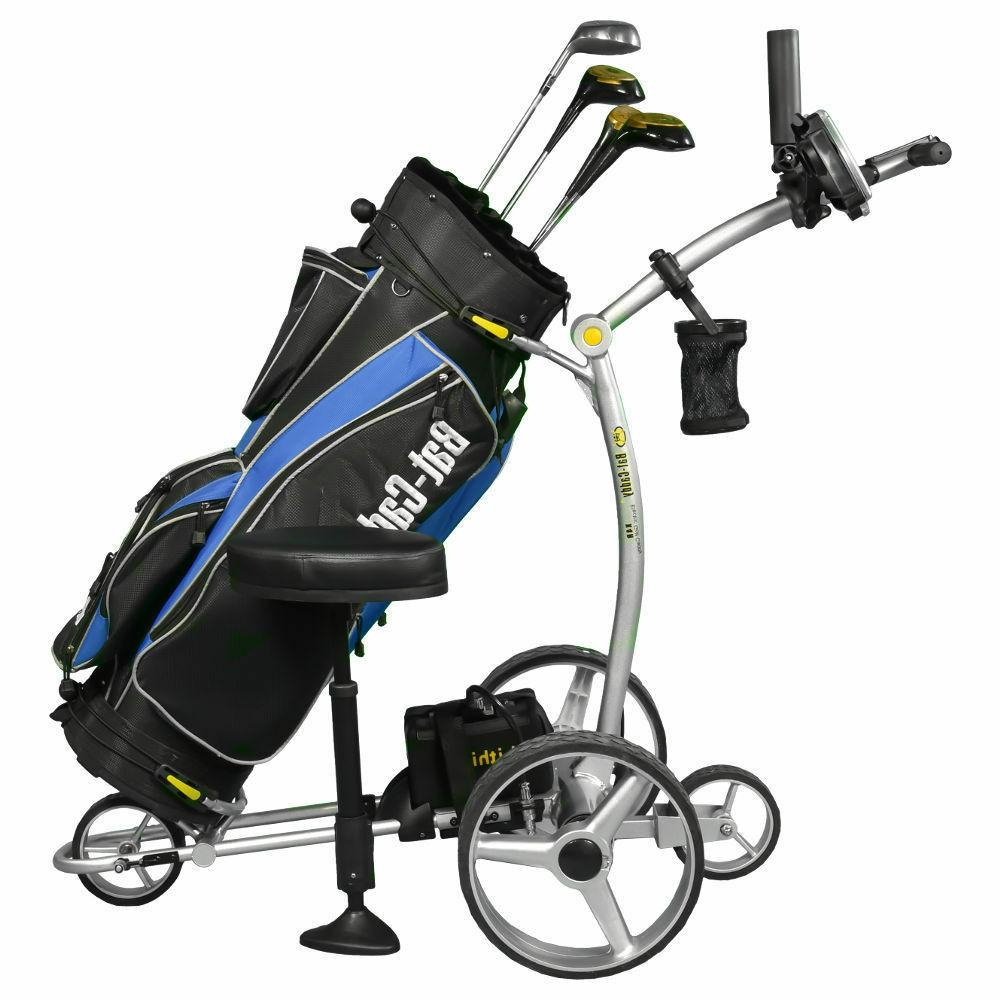2018 Bat Caddy X4R Remote Control Electric Golf Bag Cart/Tro