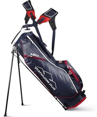 2019 2 5 stand bag navy red