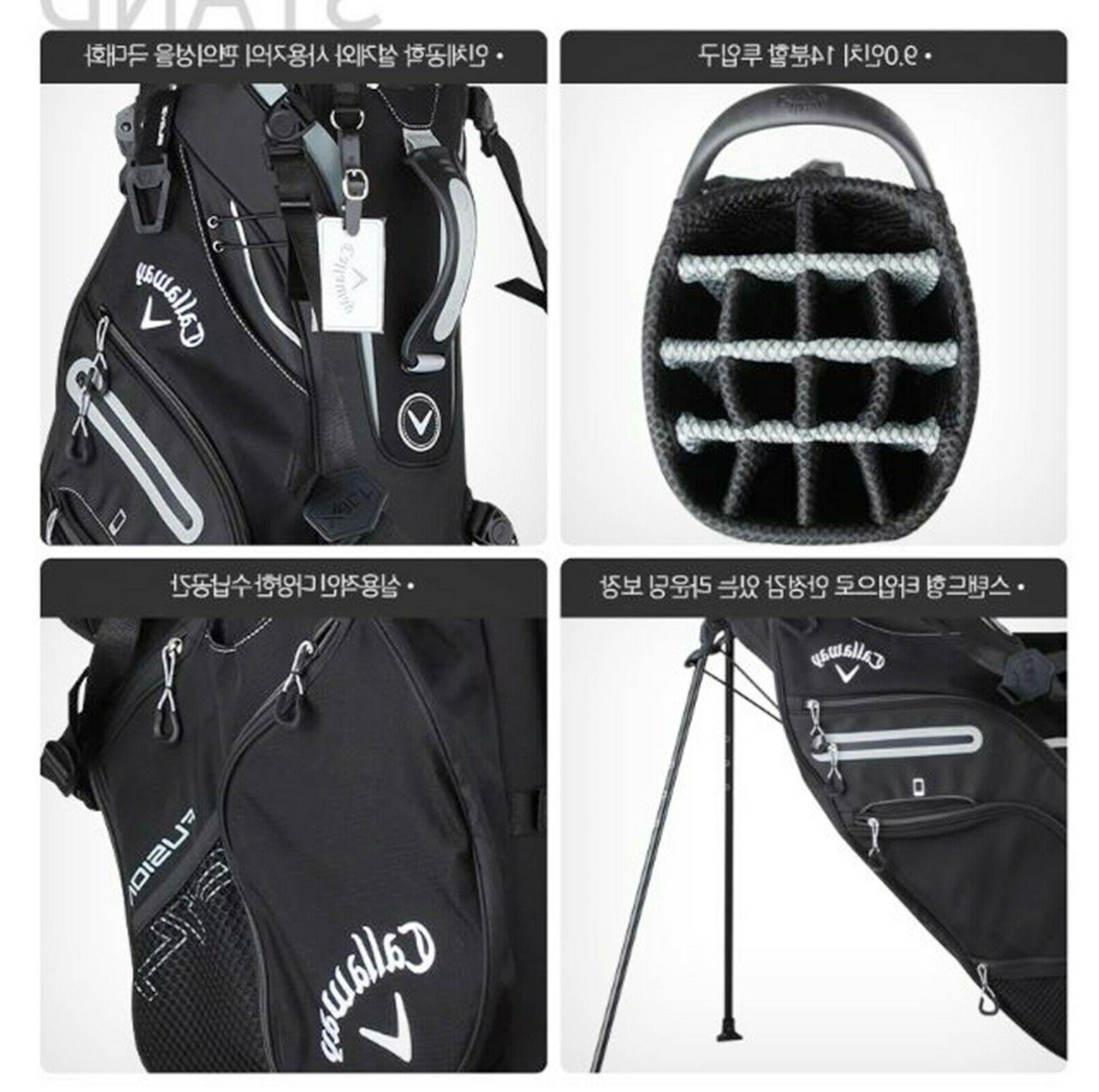 Callaway Men's Golf Stand 9inch BK /