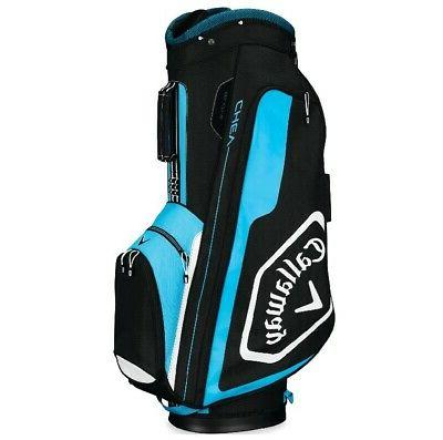 2019 golf chev cart bag black blue