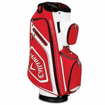 2019 golf chev org cart bag red