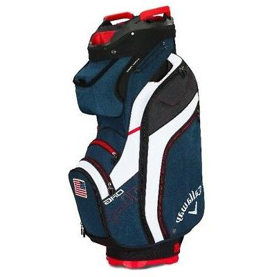 2019 golf org 14 cart bag navy